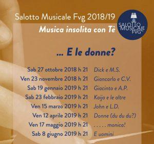 Salotto Musicale FVG 2018/19